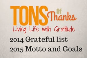 Living Life with Gratitude
