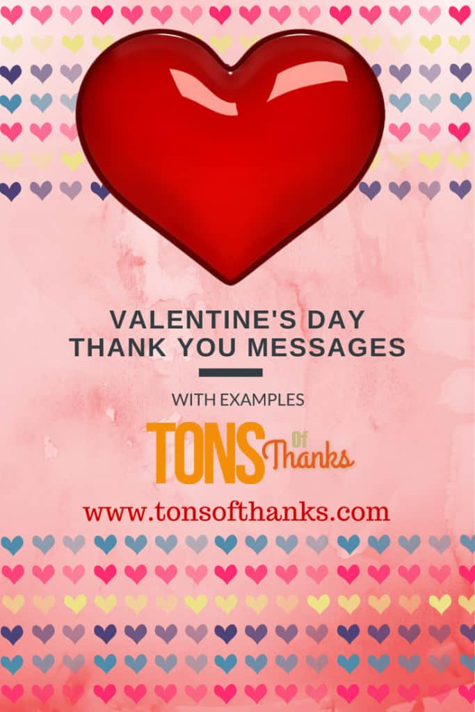 Valentine's Day Thank You Messages