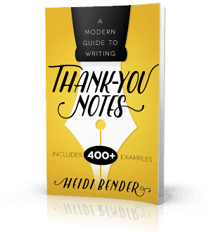 A Modern Guide to Writing Thank-You Notes